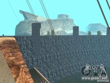 La nueva presa para GTA San Andreas