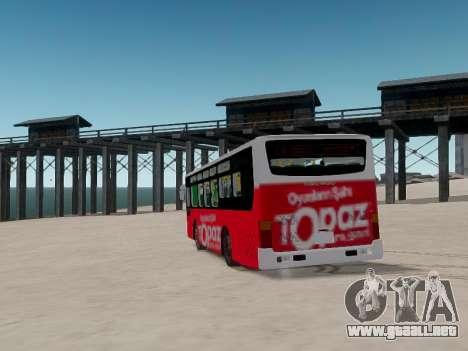 Daewoo BC211MA Baku para GTA 4 vista lateral