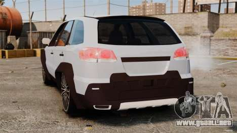 Fiat Palio Adventure Locker Evolution para GTA 4 Vista posterior izquierda