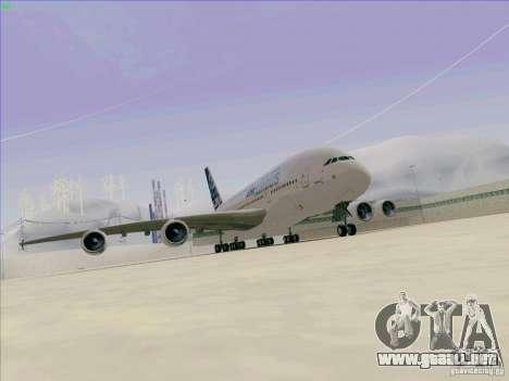 Airbus A380-800 para GTA San Andreas