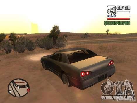 Elegía nuevo para GTA San Andreas vista posterior izquierda