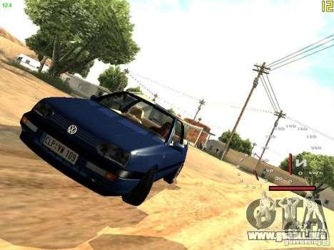 Volkswagen Golf MK3 Cabrio 1993 para GTA San Andreas left