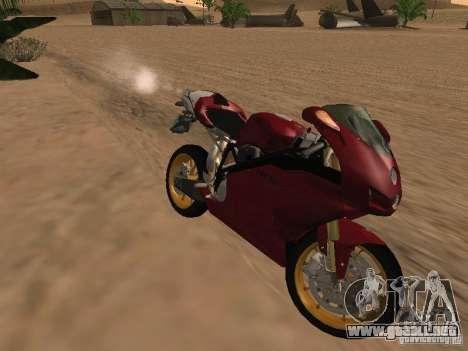 Ducati 999R para visión interna GTA San Andreas