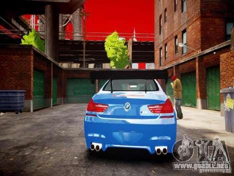 BMW M6 2013 para GTA 4 visión correcta
