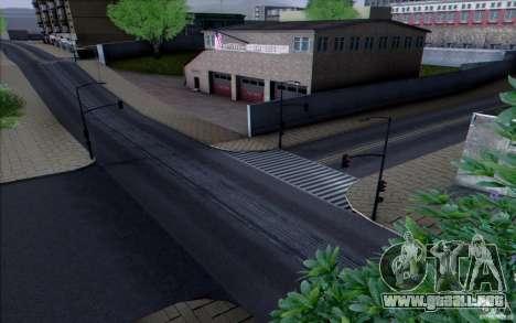 Carretera HD v3.0 para GTA San Andreas quinta pantalla