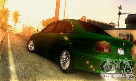 BMW M5 E39 para GTA San Andreas left