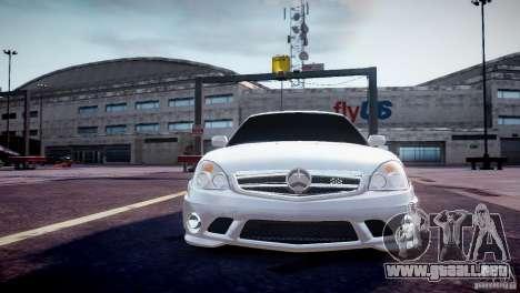 LADA Priora 2170 AMG para GTA 4 vista hacia atrás