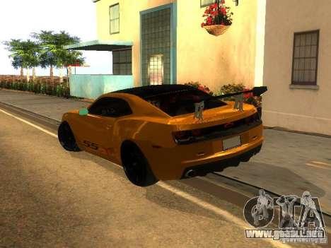 Chevrolet Camaro SSX V1.1 para la visión correcta GTA San Andreas