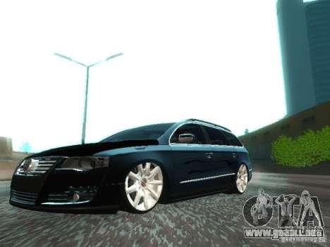 Volkswagen Passat B6 Variant Com Bentley 20 Fixa para GTA San Andreas
