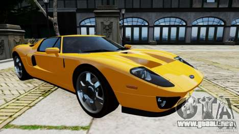 Ford GT 2005 v1.0 para GTA 4 left