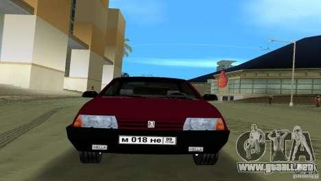 VAZ 21099 para GTA Vice City vista lateral izquierdo