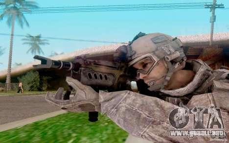 Tavor Ctar-21 de warface para GTA San Andreas tercera pantalla