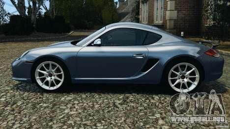 Porsche Cayman R 2012 para GTA 4 left