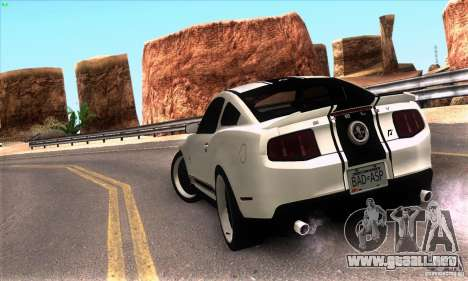 Real HQ Roads para GTA San Andreas segunda pantalla