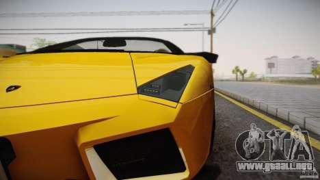 Lamborghini Reventón Roadster 2009 para GTA San Andreas left