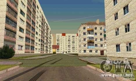 Arzamas v0.1 para GTA San Andreas sucesivamente de pantalla