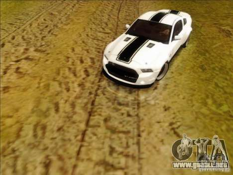 Ford Shelby GT500 SuperSnake NFS The Run Edition para GTA San Andreas left