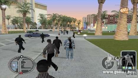 HUD ultra moderno para GTA San Andreas segunda pantalla