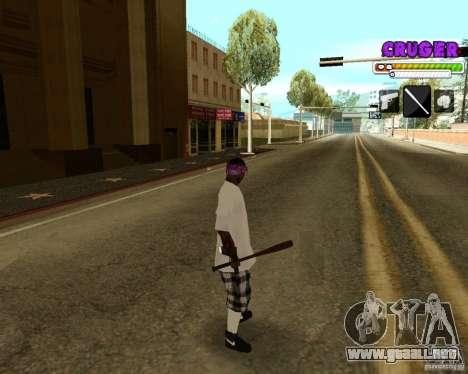 Ballas by R.Cruger para GTA San Andreas sucesivamente de pantalla