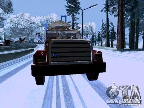RTS 420 Šatalka para GTA San Andreas vista hacia atrás