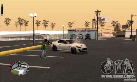 GodPlayer v1.0 for SAMP para GTA San Andreas sucesivamente de pantalla