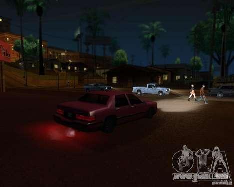 ENBSeries para el medio- y PC de alta potencia para GTA San Andreas tercera pantalla