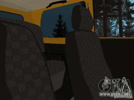 VAZ 21214 Niva para GTA San Andreas vista hacia atrás
