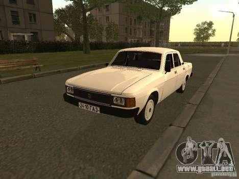Volga GAZ 31013 para GTA San Andreas