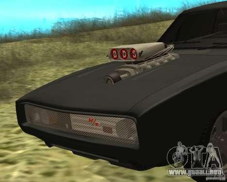 Dodge Charger R/T 1970 para GTA San Andreas left