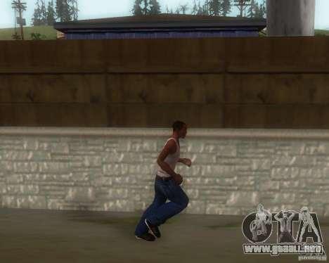 GTA IV Animations v1.1 para GTA San Andreas tercera pantalla