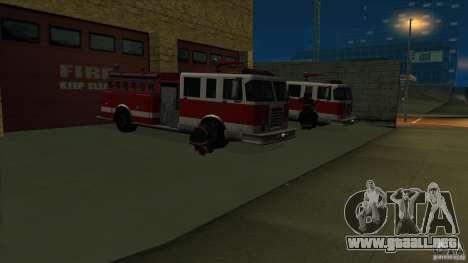 Estación de fuego de avivamiento en San Fierro v para GTA San Andreas segunda pantalla