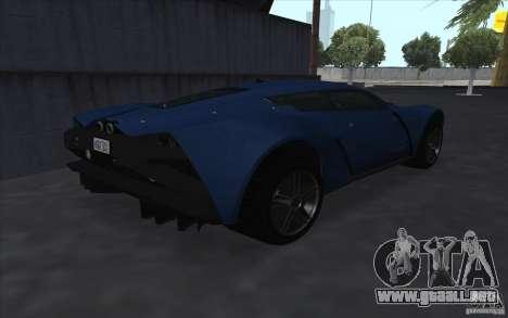 Marussia B2 2010 para la visión correcta GTA San Andreas