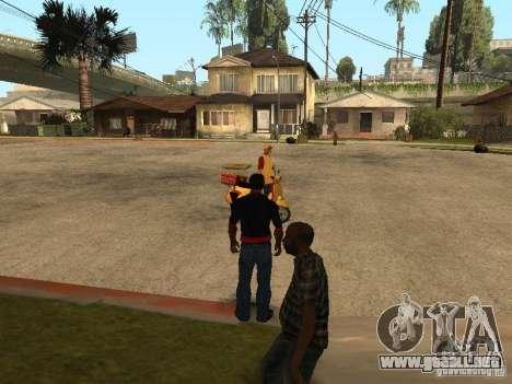 CJ hambre v. 3 final para GTA San Andreas