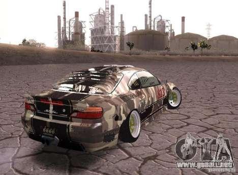 Nissan Silvia S15 Volklinger para GTA San Andreas left