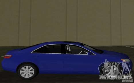 Toyota Camry 2007 para GTA Vice City left