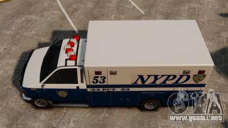 Nueva policía van para GTA 4 visión correcta