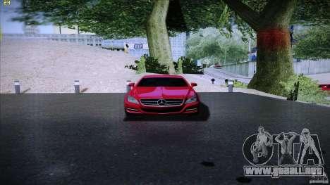 Mercedes Benz CLS 350 2011 para la visión correcta GTA San Andreas