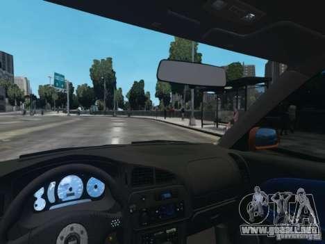 Mitsubishi Lancer Evo VI GSR para GTA 4 vista hacia atrás