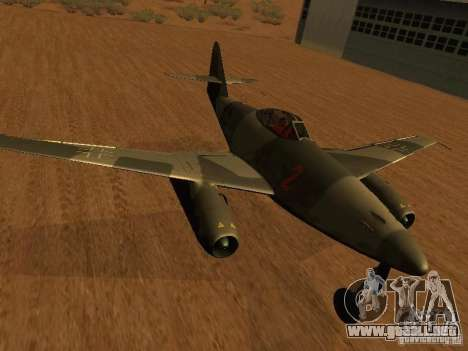 Messerschmitt Me262 para GTA San Andreas
