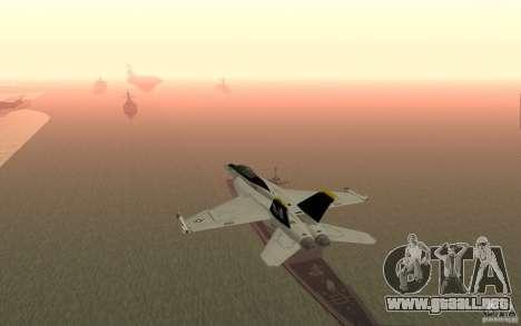 CSG-11 para GTA San Andreas segunda pantalla