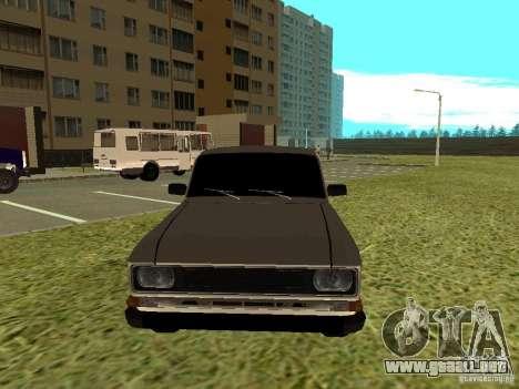 Moskvich 2140 para GTA San Andreas left