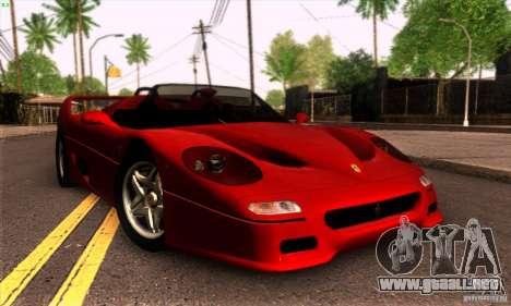 Ferrari F50 Spider para GTA San Andreas left