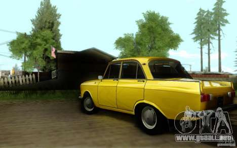 ENBSeries By Eralhan para GTA San Andreas segunda pantalla