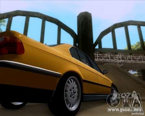 BMW 730i E38 1996 Taxi para visión interna GTA San Andreas