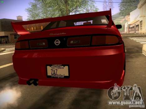 Nissan Silvia S14 Ks Sporty 1994 para GTA San Andreas left