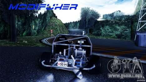 Mazda MX-5 Tube Frame para visión interna GTA San Andreas