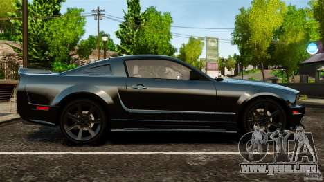 Saleen S281 Extreme Unmarked Police v1.5 para GTA 4 left