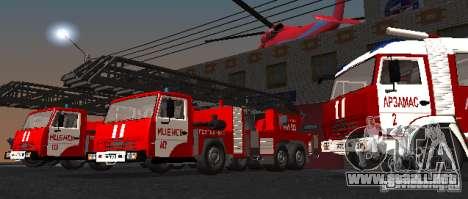 KAMAZ 53229 para la visión correcta GTA San Andreas
