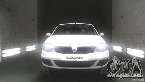 Dacia Logan para GTA Vice City