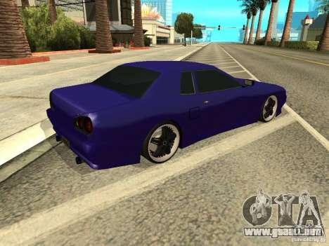 Elegy by W1nston4iK para GTA San Andreas vista posterior izquierda